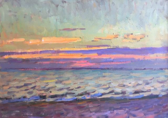 Ben Fenske, 'Long Beach, Early Evening', 2017, Grenning Gallery