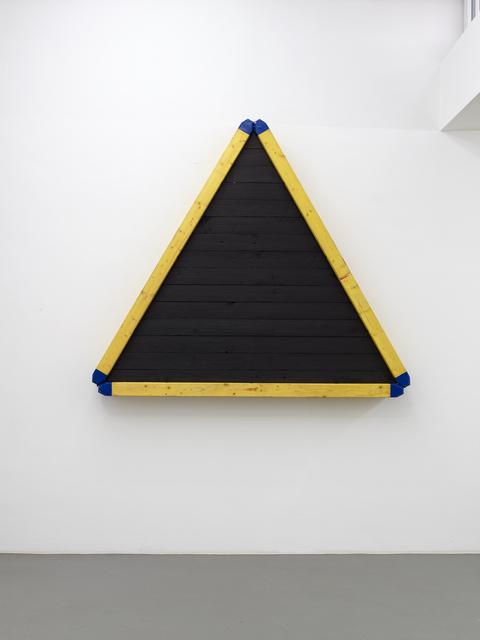 , 'Das schwarze Dreieck ,' 2017, Galerie Christian Lethert