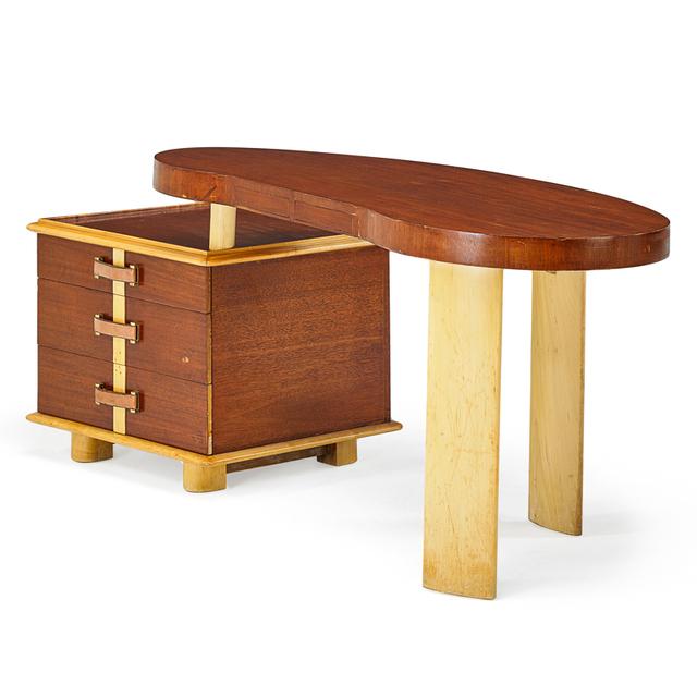 Paul T. Frankl, 'Rare Ameoba Desk', 1940s, Rago/Wright