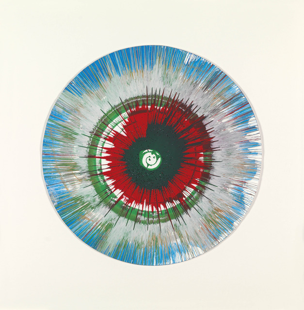 Damien Hirst, 'Spin (Red, green and blue)', Opera Gallery