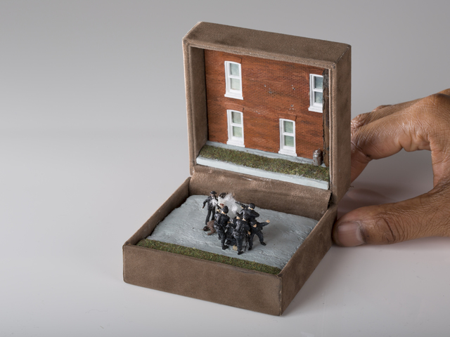 , 'The Execution Of Unarmed Blacks,' 2014, Magdalyn Asimakis