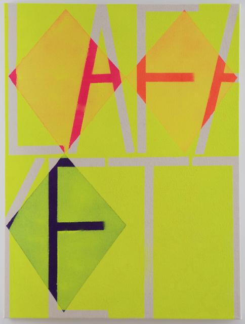, 'Yellow Lafayette,' 2013, Xippas