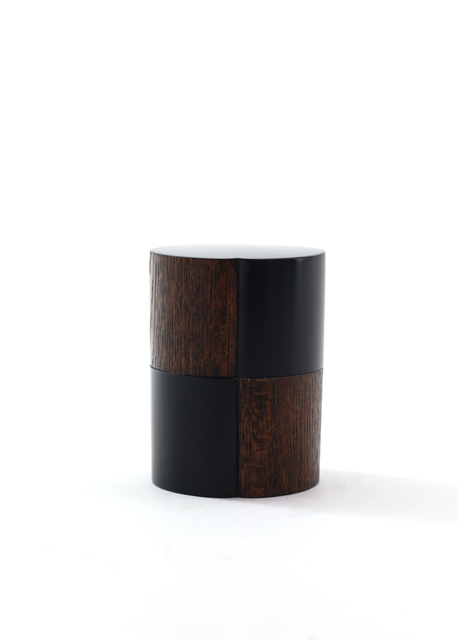 , 'Ellipse rubbed lacquer tea caddy with checkered pattern,' 2017, Ippodo Gallery