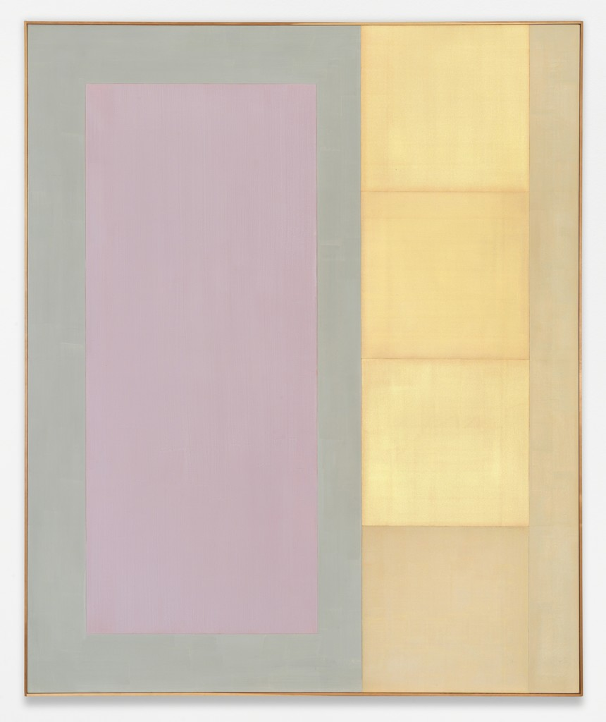 Ohne Titel, 2000, acrylic paint on canvas, 240 x 190 cm