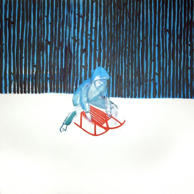 , 'Sledge,' 2015, Galerie Sandhofer