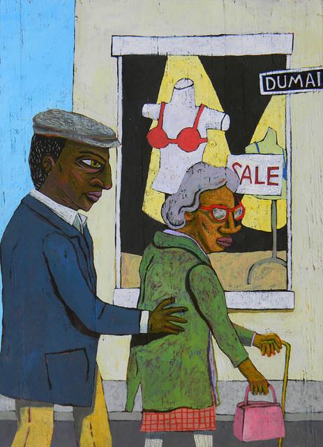 , 'Crossing Dumaine,' 2019, LeMieux Galleries