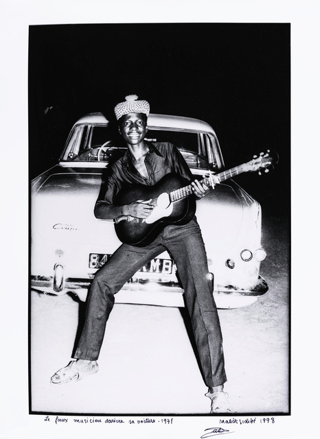, 'The Wannabe Musician Behind His Car,' 1971, The Studio Museum in Harlem