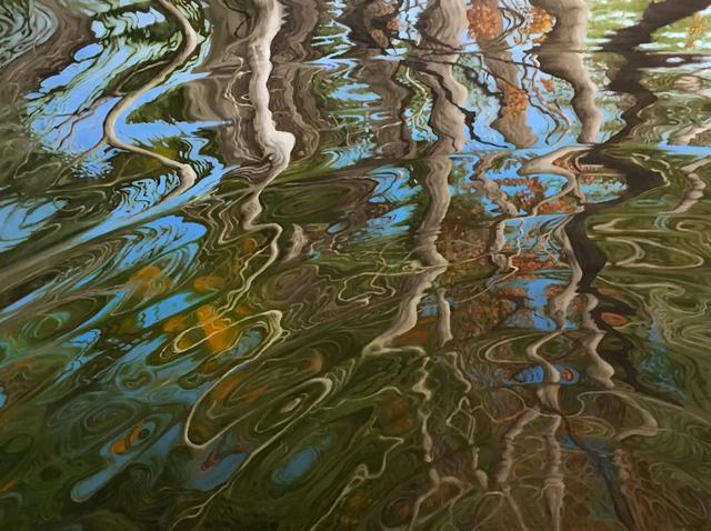 , 'Charles River Ripple,' ca. 2018, Copley Society of Art