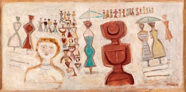 Massimo Campigli, 'Paesaggio', 1955, Finarte