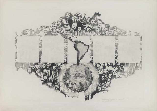 , 'Tentativas de técnicas de segmentación 4,' 1979, Henrique Faria | Buenos Aires