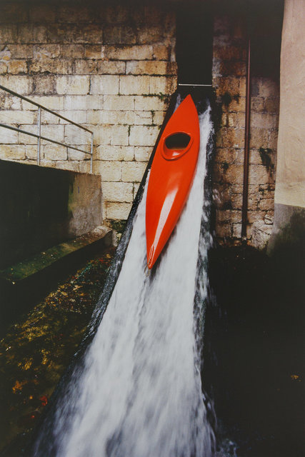 Roman Signer, 'Kajak (Roschtige Hund, Aarau)', 1998, Galerie Martin Janda