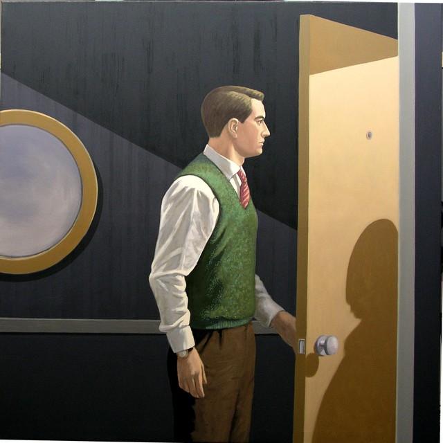 , 'At the Door,' 2018, Galerie Kleindienst