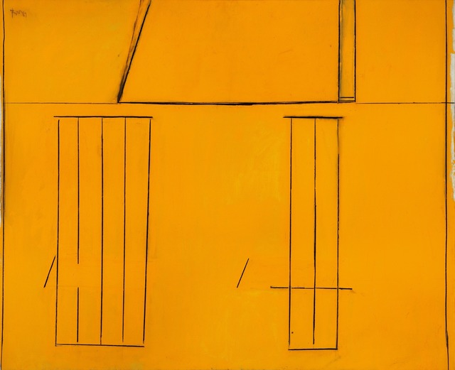Robert Motherwell, 'Open No. 97: The Spanish House', 1969, Painting, Acrylic and charcoal on canvas, Dedalus Foundation