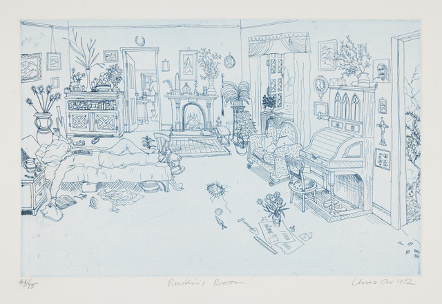 Chris Orr, 'Chris Orr's John Ruskin', 1972, Books and Portfolios, Complete set of ten etchings with aquatint and engraving in colours, Roseberys