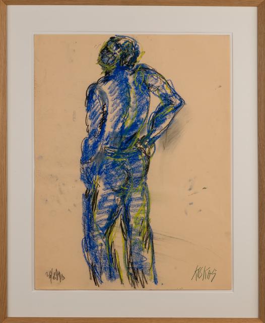 ", '""Nu Bleu"",' 1990, Galerie Dutko"