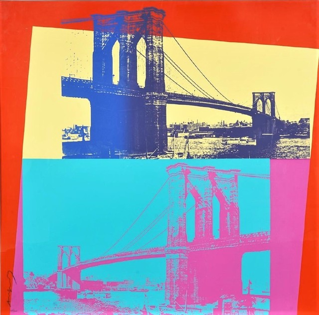 Andy Warhol, 'Brooklyn Bridge', 1983, michael lisi / contemporary art