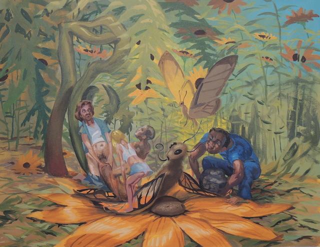 , 'Gang Raping a Butterfly,' 2011, Linda Warren Projects