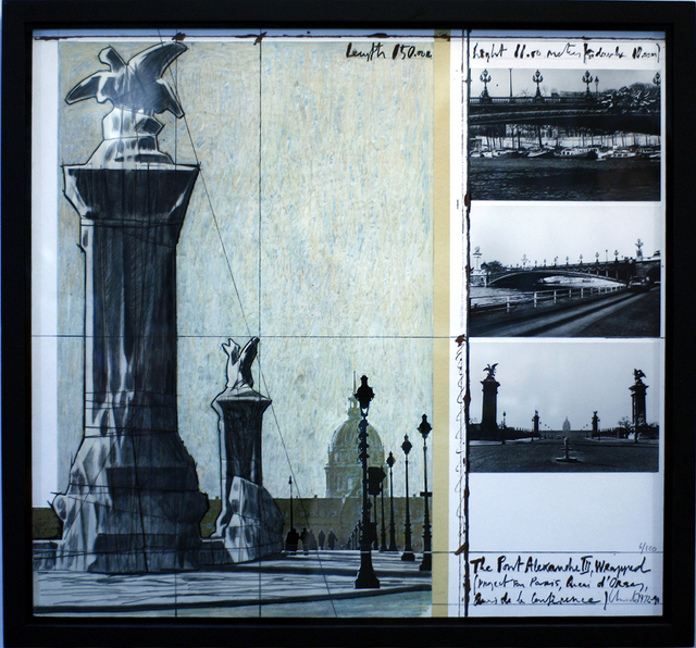 , 'Wrapped Monument Project,' 1972-1990, Galerie Pici