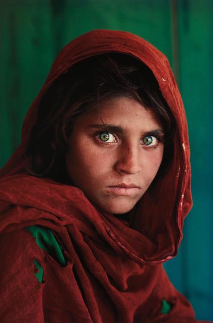 Steve McCurry, 'Sharbat Gula, Afghan Girl, Pakistan', 1984, Phillips