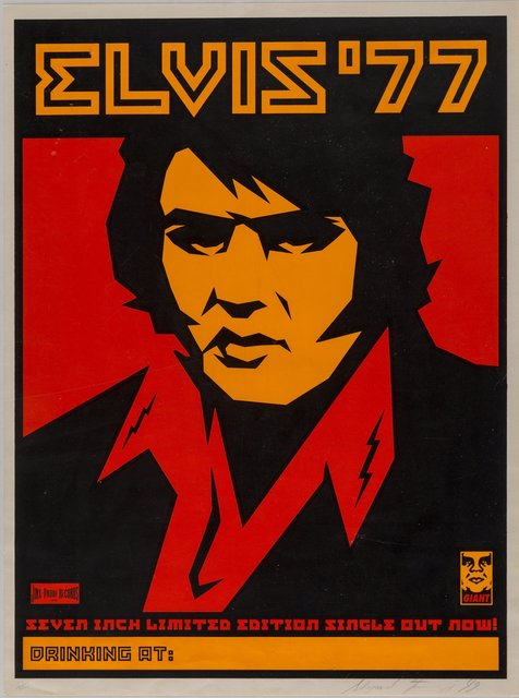 Shepard Fairey, 'Elvis '77', 1999, Heritage Auctions