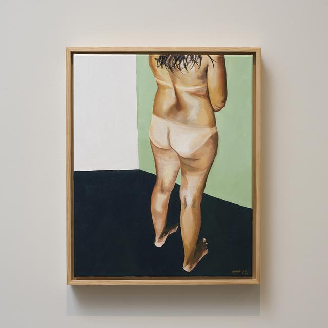 , 'Standing Female Nude, Tan Lines,' 2017, Jen Mauldin Gallery