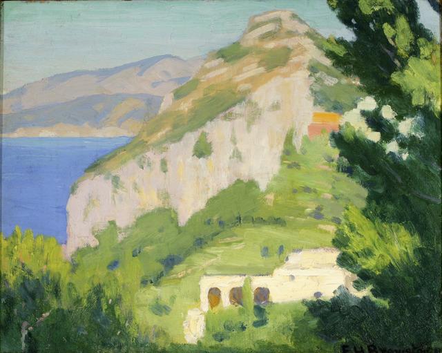 , 'Salto Di Tiberio, Capri,' 1921, ACA Galleries