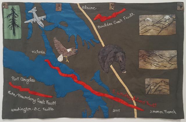 , 'Washington - B.C. Faults,' 2011, Craig Krull Gallery