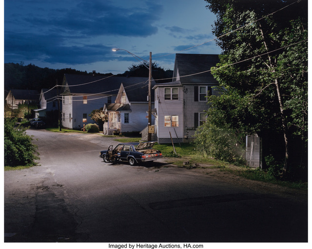 Gregory Crewdson, 'Untitled (car & spooky garage)', 2001, Heritage Auctions