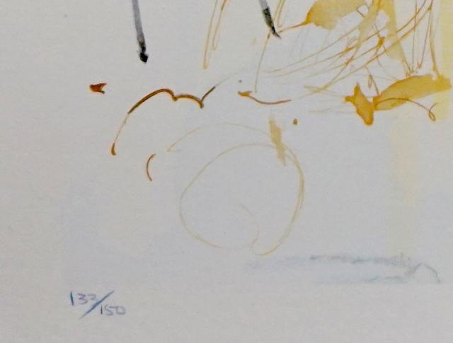Salvador Dalí, 'Divine Comedy Heaven Canto 21', ca. 1960, Print, Woodcut, Fine Art Acquisitions Dali