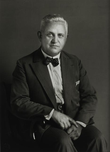August Sander, 'Retired Major, c. 1930', Galerie Julian Sander