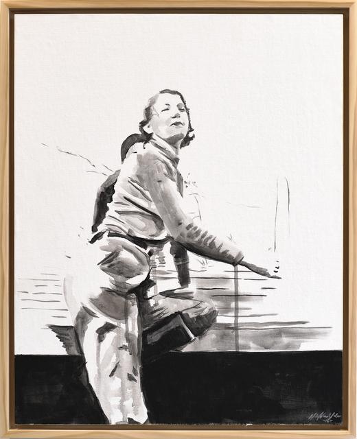 , 'Ladies of Lake Worth: Kneeling Pose #2 - Lean,' 2016, Jen Mauldin Gallery