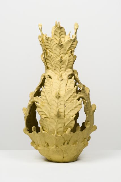 , 'Untitled (Yellow open-top vessel),' , Fleisher/Ollman