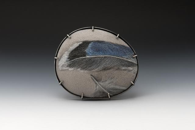 , 'Blue Feather 2,' 2017, Facèré Jewelry Art Gallery