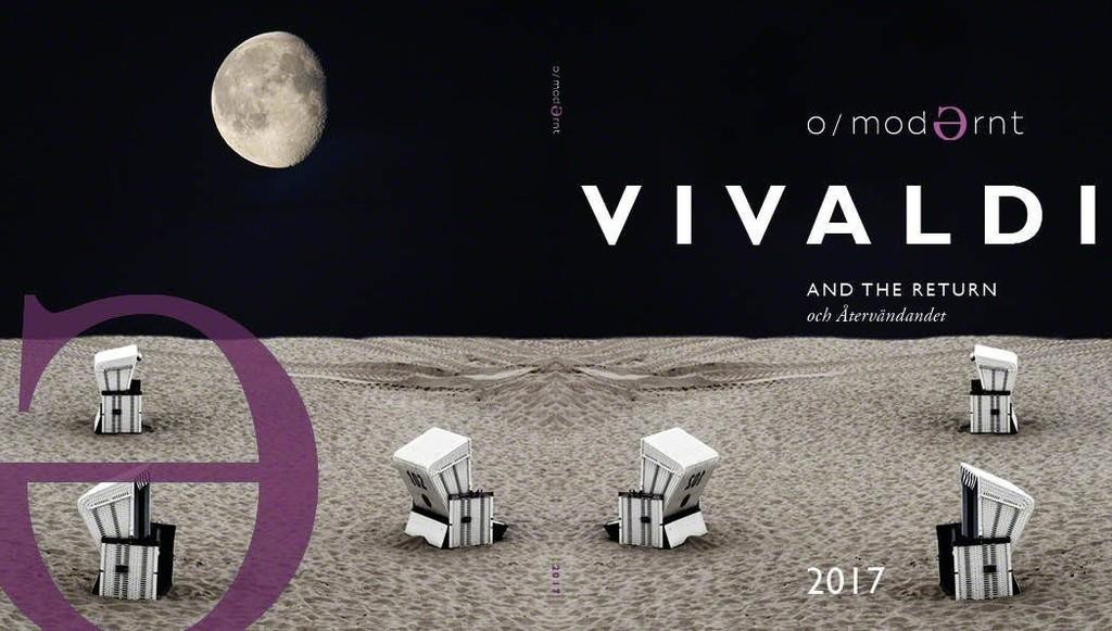 Festival O/Modernt, programme book 2017, cover