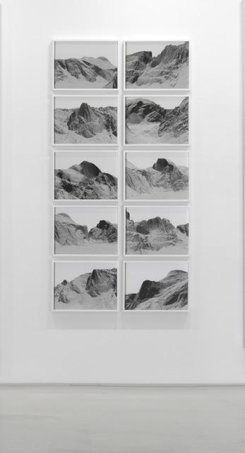 , 'Yosemite, Grid ,' 2012, SCHEUBLEIN + BAK