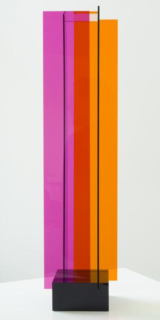 , 'Transchromie á quatre éléments,' 1965-2010, Marion Gallery