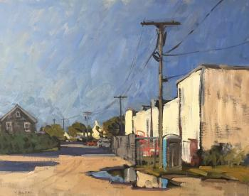 Victor Butko, 'Behind the Main Street', 2018, Grenning Gallery