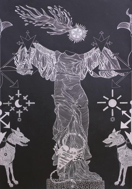 , 'Tirada I. La luna,' 2016, Javier Lopez & Fer Frances