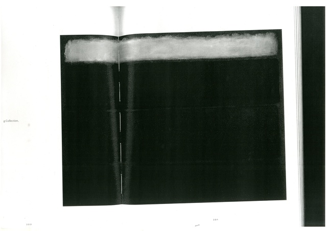, 'Mark Rothko Untitled p.200 - 201,' 2014, Cynthia Corbett Gallery