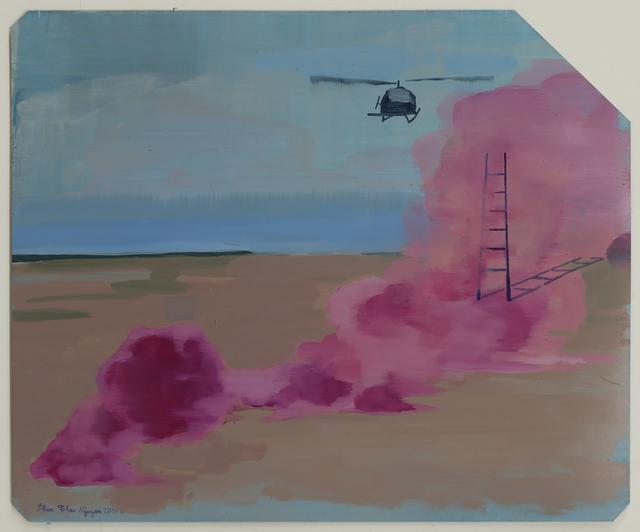 , 'Pink Fog (Cluster bomb) 粉紅霧(簇聚炸彈),' 2017, Edouard Malingue Gallery