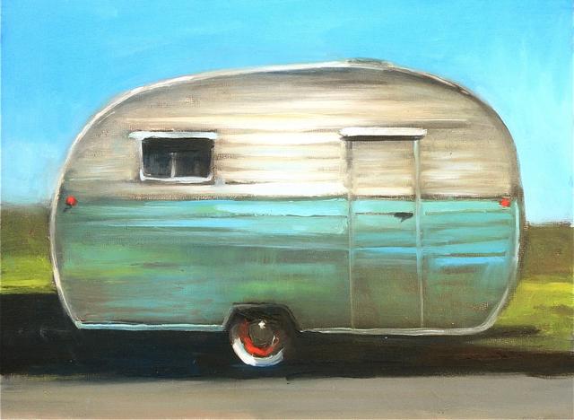 , 'Vintage Camper,' 2016, Sue Greenwood Fine Art