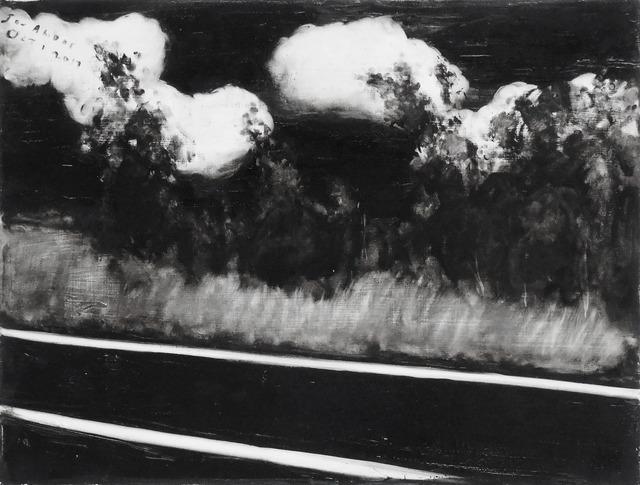 , 'Roadside Oct 1,' 2017, Galerie Sébastien Bertrand