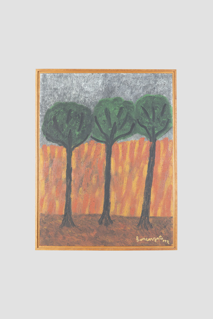 Amadeo Luciano Lorenzato, 'Queimada', ND, Painting, Oil on canvas and wood, Galeria Marília Razuk