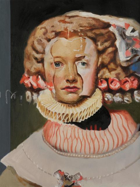 , 'Lacunae Portrait #2,' 2017, Mirus Gallery