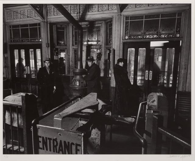 Berenice Abbott, 'El Station Interior', 1936, Doyle