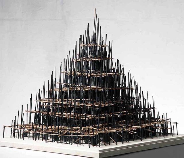 , 'Deconstructed Pyramid 2,' 2015, Zilberman Gallery