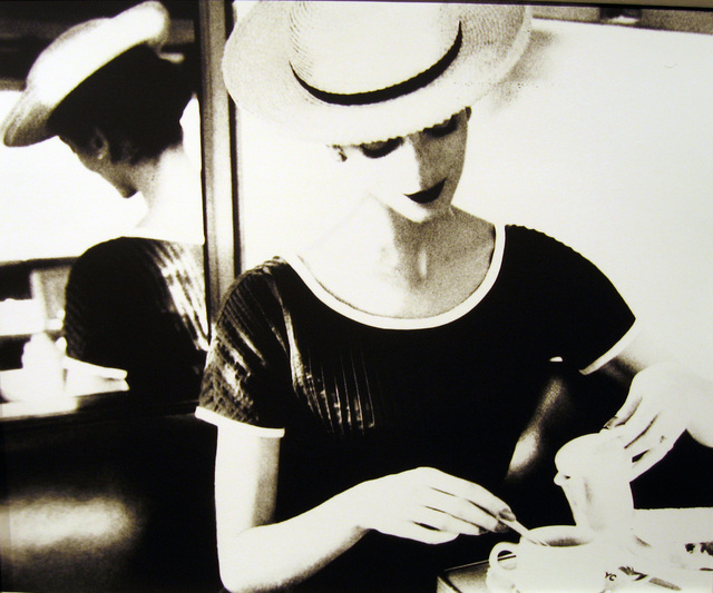 Lillian Bassman, 'Carmen Having Tea', ca. 1950, Photography, Gelatin silver print, Peter Fetterman Gallery