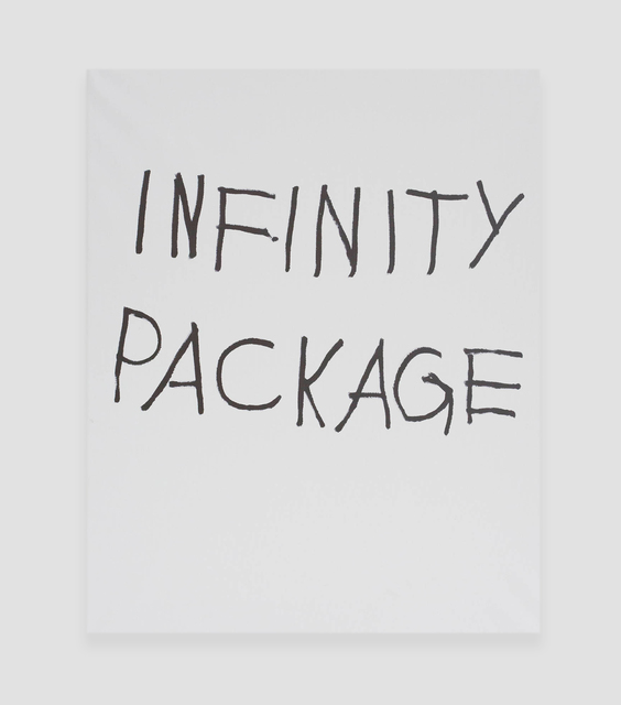 , 'INFINITY PACKAGE,' 2016, The Hole