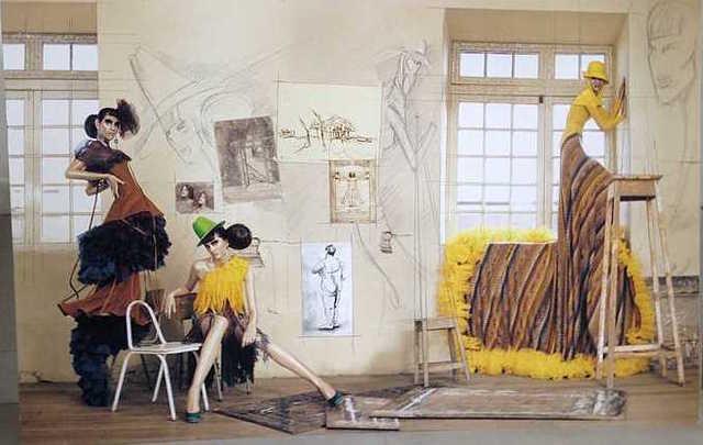 , 'Haute Color Yellow Dress,' 2009, The Art:Design Project