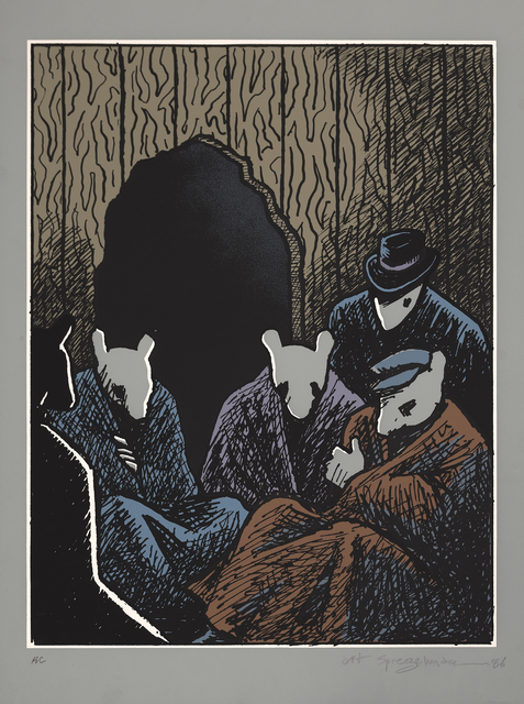 , 'Mouse Holes,' 1986, Marlborough Graphics